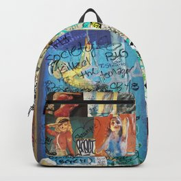 Society Killed the Teenager Backpack