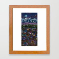 Adventure Town Framed Art Print