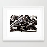 yowamushi pedal Framed Art Prints featuring Pedal Cars by Upperleft Studios