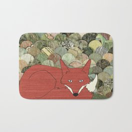 Mr. Fox Bath Mat