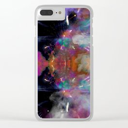 Abstract Bokeh Clear iPhone Case
