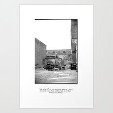 The City 3: Brooklyn In The Back Art Print