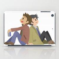 destiel iPad Cases featuring Supernatural - Destiel [Commission] by Choco-Minto