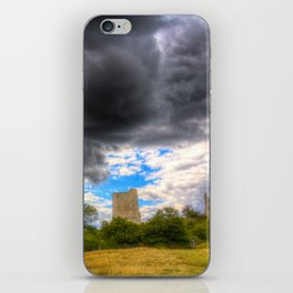 Storm Over The Castle iPhone Skin