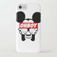 mickey iPhone & iPod Cases featuring mickey by WanderlustHipster