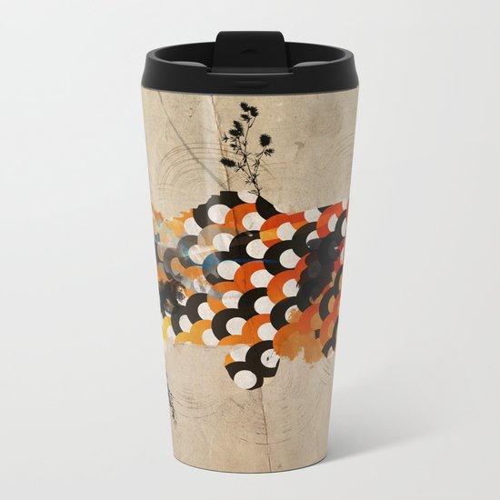 carp_koi_ink Metal Travel Mug
