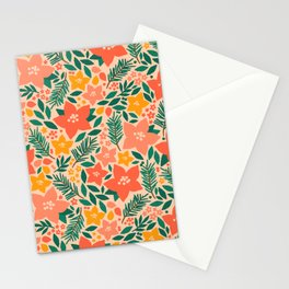 Forest Floral Stationery Cards