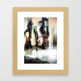City Lost Framed Art Print