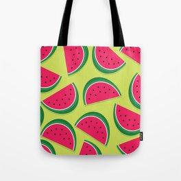 Juicy Watermelon Slices Tote Bag