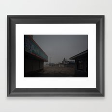 The Boardwalk, After Sandy Framed Art Print