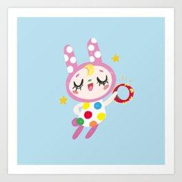 Animal Crossing Chrissy Art Print