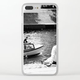 York (237) Clear iPhone Case