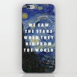 Starry Step iPhone Skin