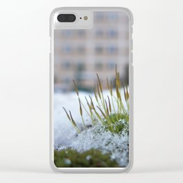 drop of life Clear iPhone Case