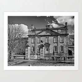 Harrington House. B&W Art Print