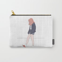 Fashion illustration - Girl Gang Prints - Bali Carry-All Pouch