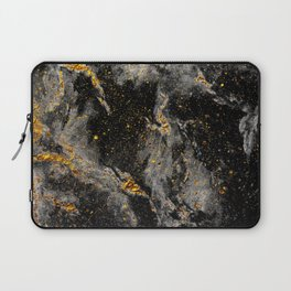 Galaxy (black gold) Laptop Sleeve