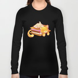 Ice sandwich cat Long Sleeve T-shirt