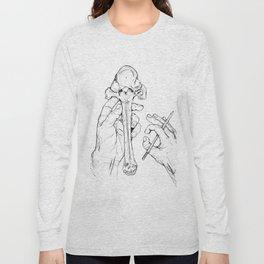 Holding Skeletons Long Sleeve T-shirt