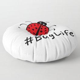 #BugLife (Ladybug) Floor Pillow