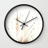 fairies Wall Clocks featuring Fairies by Valentina Cardana