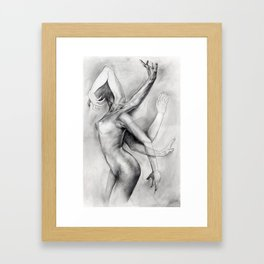 A Study in Movement Framed Art Print