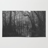 florida Area & Throw Rugs featuring Florida Swamp by Kevin Russ