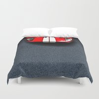 ford Duvet Covers featuring Classic Ford GT40 by the lazy pigeon