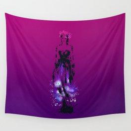 Splaaash Series - Flower Queen Ink Wall Tapestry