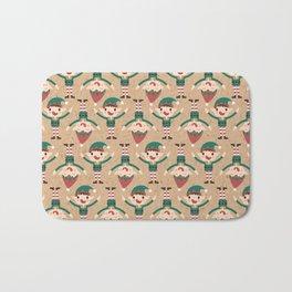 Santa's Elven Slaves II (Patterns Please) Bath Mat
