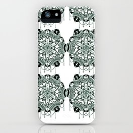 Bejewelled pattern iPhone Case