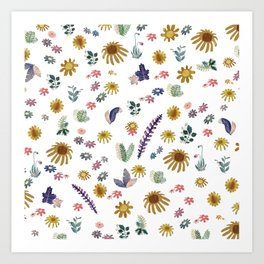 ramdom nature Art Print