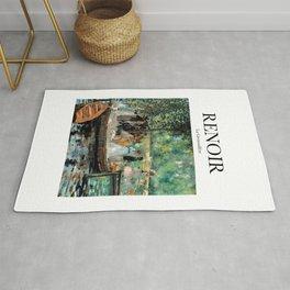 Renoir - La Grenouillère Rug