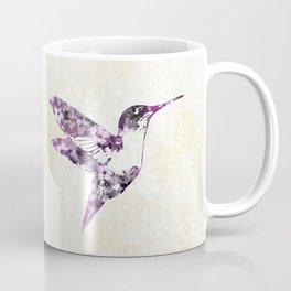 Purple Hummingbird Art Coffee Mug