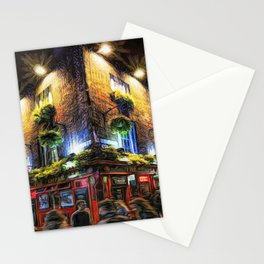 The Temple Bar Pub in Dublin Stationery Cards