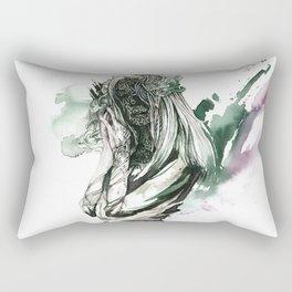 Half-naked Rectangular Pillow