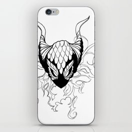 Dragon mask iPhone Skin