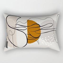 Big Hat Rectangular Pillow