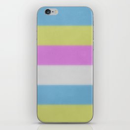 Colorblock iPhone Skin
