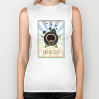 panic at the disco Biker Tanks featuring Panic at the disco by mangulica