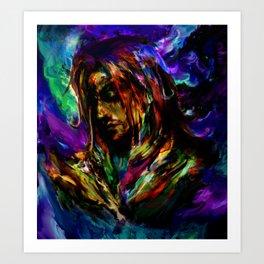 space elf musashi Art Print
