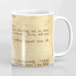 Jane Eyre, Mr. Rochester First Marriage Proposal by Charlotte Bronte Coffee Mug