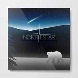 North Star Metal Print