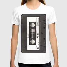 Cassette Tape Black And White #decor #society6 #buyart T-shirt