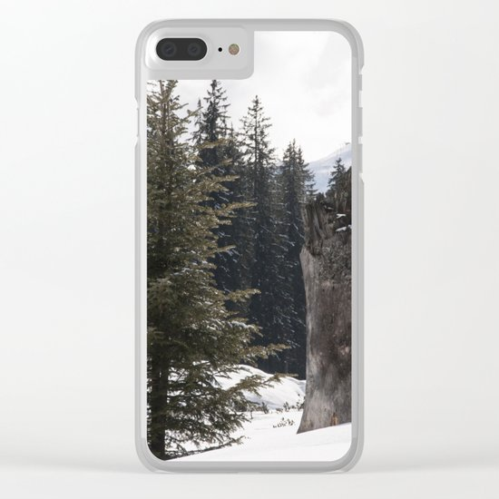 It´s wintertime Clear iPhone Case