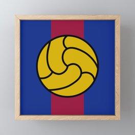 Barça Framed Mini Art Print