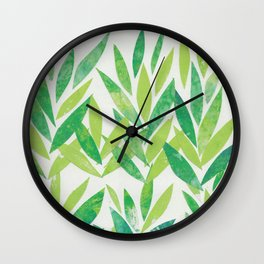 Tea Leaves Wall Clock