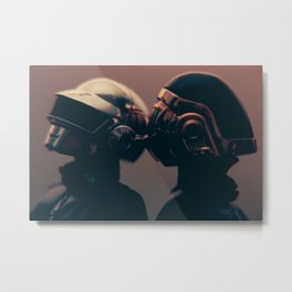 We are the Robots - (DAFT PUNK SERIES) Metal Print