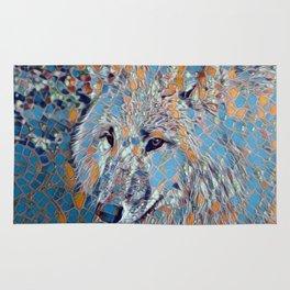 Mosaic - Wolf Rug