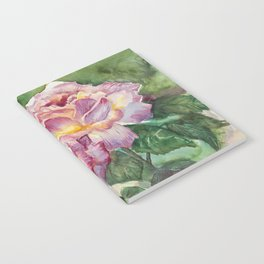 Grandma's Roses Notebook